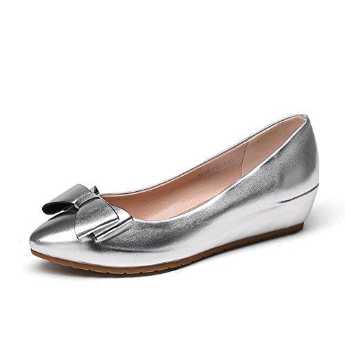 Dans les chaussures de haute femmes automne/Version coréenne d'asakuchi arcs a fait chaussures/Femmes talons C
