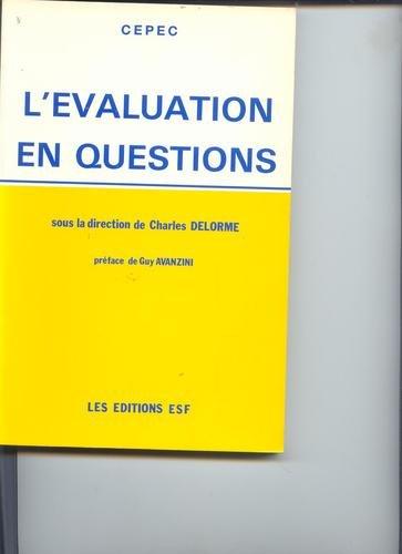 L'Évaluation en questions
