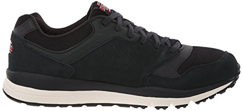 Skechers Direct Flight Maschenweite Wanderschuh Black/Red