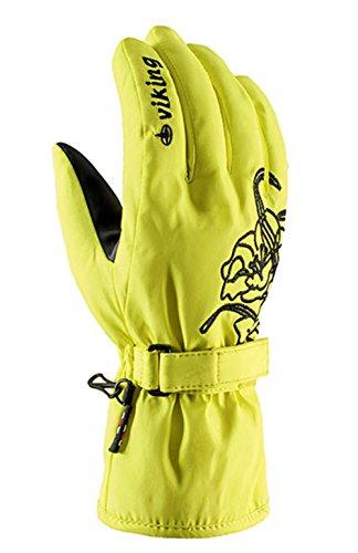 Viking Handschuhe Winter Skihandschuhe Damen - atmungsaktiv und wasserdicht - mit AQUA THERMO TEX Membrane und HOLLAFIL Füllung - Mallow,...