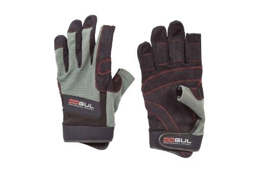 GUL Sommer 3-Finger-Handschuh schwarz Schwarz/Charcoal M