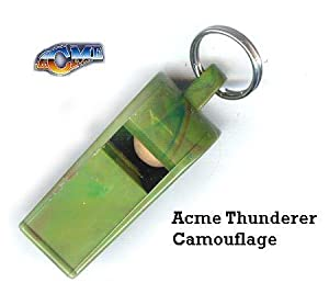 THUNDERER Acme Camouflage Dog Whistle and De-Luxe Safety Lanyard
