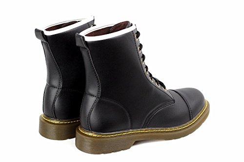Pour Lacets Hommes Bottes Chelsea Décontractées Chaussures Mode Avec 5FxwqBZ4