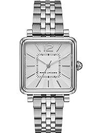 Marc Jacobs MJ3461 - Reloj con correa de metal, para mujer, color plateado