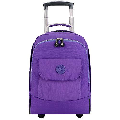 C-Xka Rad-Laptop-Rucksack-College-Rucksack, rollende Schultasche, Business-Rucksack, Reiserucksack rollenden rollenden Rucksack