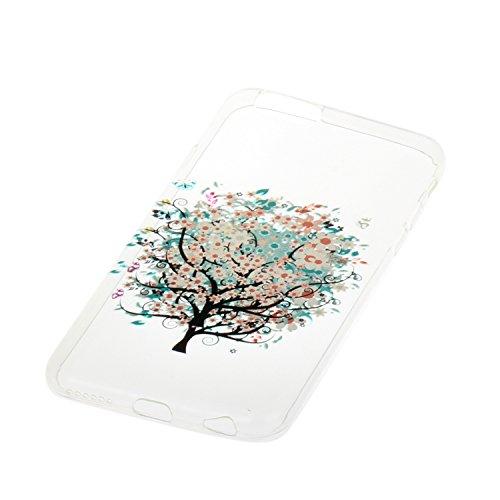 Meet de Etui / Cover / Case / Coque / Protection Coque Étui Case Cover Coque TPU Housse pour Apple iphone 6 /iphone 6S - peint arbre
