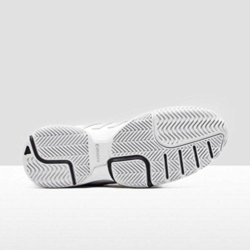 adidas Damen Barricade Court 2 W Turnschuhe Weiß / Silber / Schwarz (Ftwbla / Plamat / Negbas)