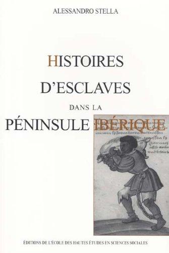 HISTOIRES D'ESCLAVES DANS LA PENINSULE IBERIQUE par Alessandro Stella