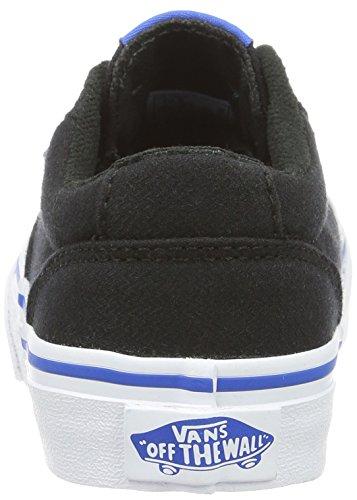 Vans Jungen Yt Winston Sneakers Schwarz (Woven)