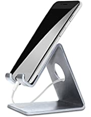 ELV Mobile Phone Aluminium Stand/Holder for Smartphones and Tablet - Silver