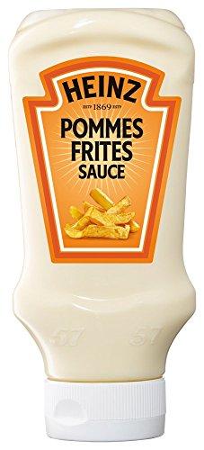 Heinz Pommes Frites Sauce Kopfsteherflasche, 10er Pack (10 x 400 ml)