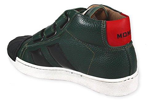RAM DONE Ledersneaker Momino ungefüttert Grün