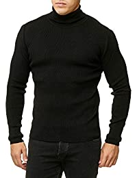 Red Bridge Herren Rollkragen Pullover Sweatshirt Strickpullover