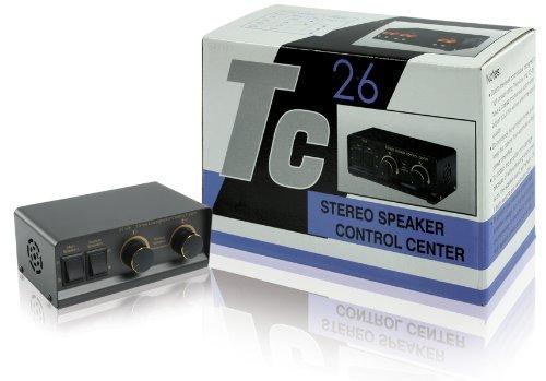 HQ TC26 Stereo Lautsprecher Schaltpult