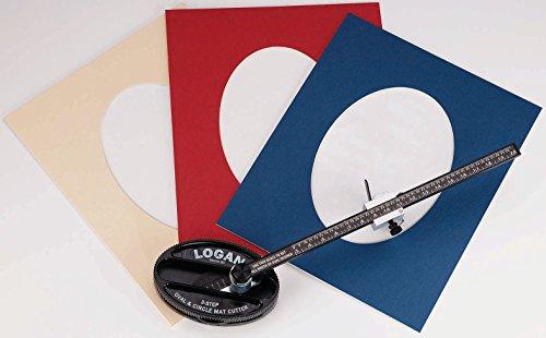 Logan Oval & Kreis-Passepartout-Schneider
