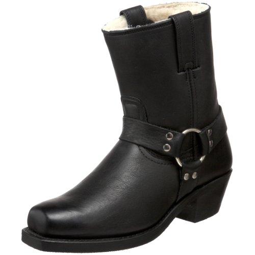 FRYE W Harness 8R Shearling Stiefel Boots