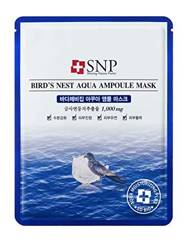 SNP - Bird´s Nest Aqua Ampoule Mask - -