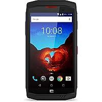 Crosscall Trekker-X3 Smartphone Débloqué LTE (Ecran : 5 Pouces 32 Go Bluetooth; WiFi; NFC Nano-SIM Android) Noir/Rouge