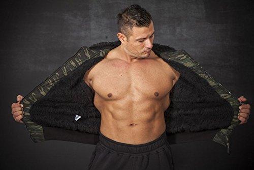 BIG SAM SPORTSWEAR COMPANY Camouflage KAPUZENJACKE Jacke Winterjacke Bomberjacke *4060* - 3