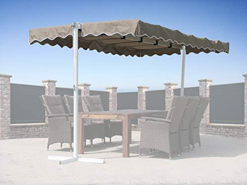 Quick-Star Ersatzdach Ziehharmonika Dubai Markise Sand