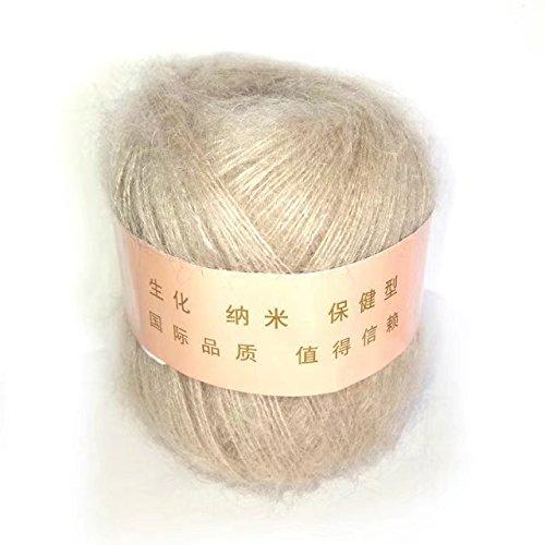 CELINE Lin One Tricot doux et chaud l'Angola Mohair cachemire Laine Fil à tricoter 50 g, 31 Couleurs Différentes