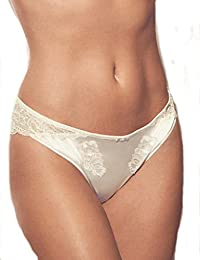 8d14bb511054 Marks and Spencer Rosie for Autograph Silk & Motif Lace Brazilian Knickers  Womens M&S