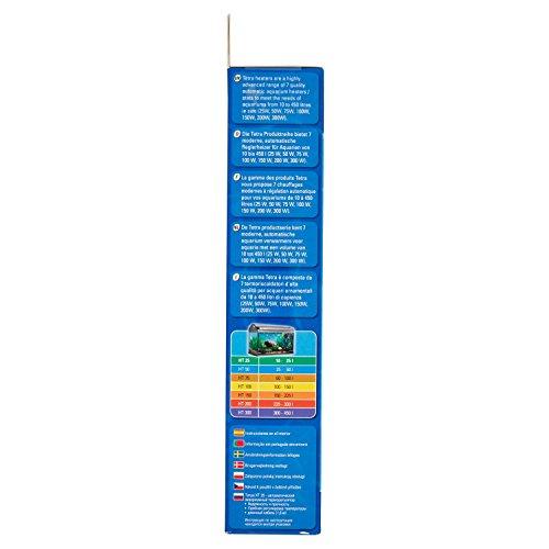 Tetra HT 25 Reglerheizer (leistungsstarker Aquarienheizer zur Abdeckung unterschiedlicher Leistungsstufen mit Temperatureinstellknopf, Heizvorrichtung für Aquarien von 10 bis 25 Liter) - 2