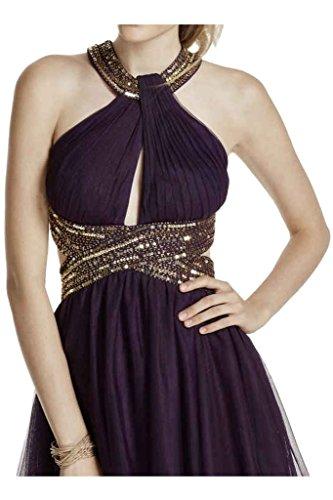 Missdressy -  Vestito  - linea ad a - Donna Uva