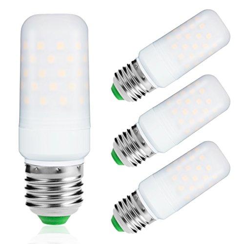 LOHAS ® 9Watt E27 LED Kerze Lampen, 80Watt Glühlampe äquivalent, 1000lm, Warmweiß 2700K, Nicht Dimmbar, Kleine Edison Schraube Kerze Glühbirnen, 220-240V AC, 3er Pack (Led-belegungs-sensor-licht)