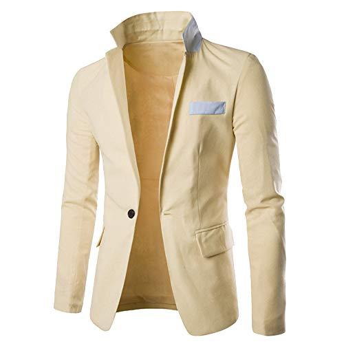 TWBB Sweatshirt Herren Gentleman Cardigan Coat Spleißender Kleber Mantel Outwear Langarm Pullover Top Jumper