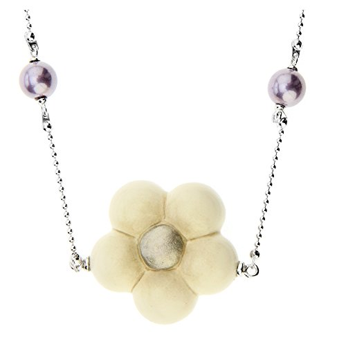 Thun ® - collana old classic marguerite eternal
