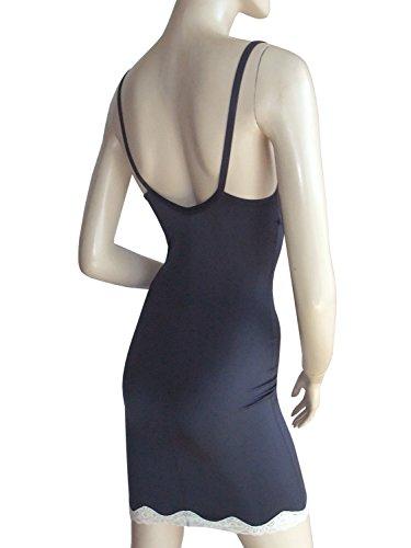 un:usual Body Shaper Kleid open bust, Dunkelblau mit Spitze Dunkelblau