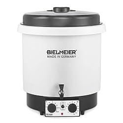 Bielmeier 655123 Einkoch-Vollautomat und Glühwein-Vollautomat 29 Liter / Kunststoff / 3/8'' Kunststoff-Auslaufhahn / 2000 W