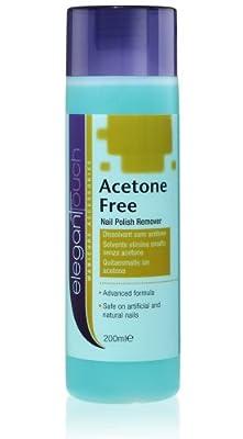 Elegant Touch Nail Polish Remover - Acetone Free 200ml