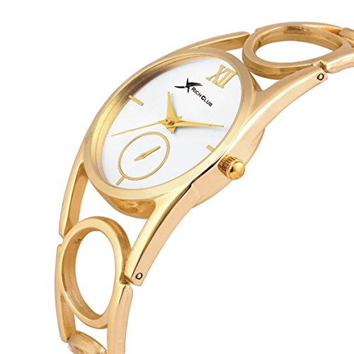 Rich Club RC-4091GOLD Oppo Ring Golden Watch – For Women