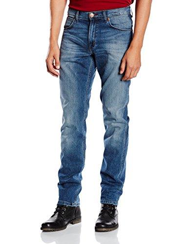 Wrangler Herren Jeans Greensboro Azur (Blue What Blue)