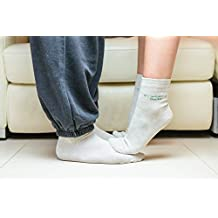 Silver Anti bacterial foot health supportive socks