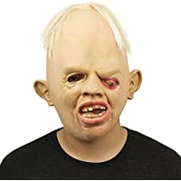 Cusfull Novedad de Látex de Caucho Horror Espeluznante Cabeza Máscaras Cara Fiesta de Disfraces Halloween