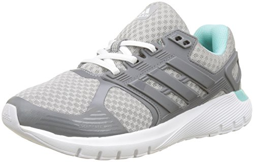 adidas Damen Duramo 8 W Laufschuhe, Grau (Grey Two F17/Grey Three F17/Energy Aqua F17), 38 2/3 EU