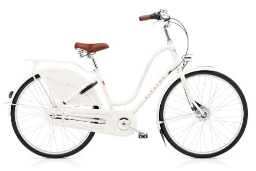 Electra Amsterdam Royal 8i ladies pearl white 2014 Hollandrad