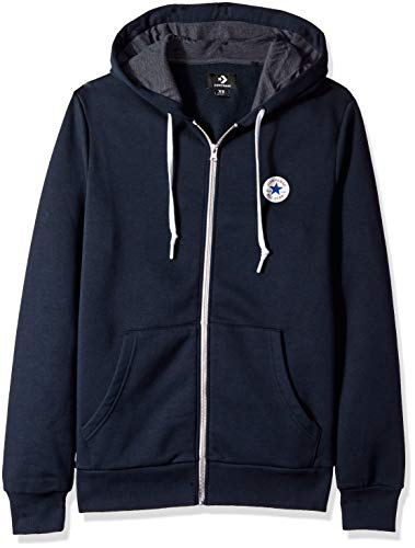 Converse Chuck Patch Full-Zip Men's Hoodie (extra small)