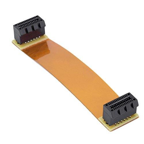 funnytoday365 flexibel 8 cm 80 mm SLI Brücke PCI-E Kabel Video Karte Stecker für ASUS