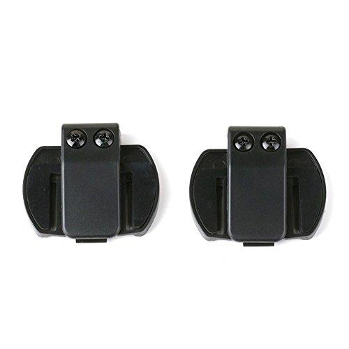 V6/V4 Motorrad Helm Bluetooth Interphone Motorrad Intercom Halterung Clip Mount für Helm Headset Futurepast Clip-Halterung für Motorradhelm Bluetooth Gegensprechanlage (2 Stück) -