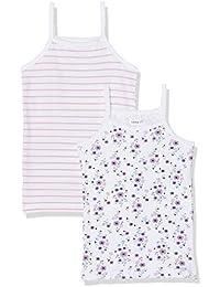 NAME IT, Camiseta sin Mangas para Niñas (Pack de 2)