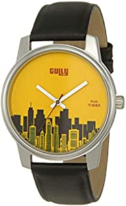 Gully by Timex Cityscape Analog Yellow Dial Men's Watch-TWGYG