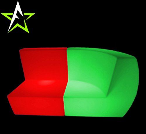 LED LOUNGE SOFA LEUCHTMÖBEL COUCH CUBE NEW DESIGN IN/OUTDOOR CLUB PARTY TREND NEW 2016 DESIGN - 6