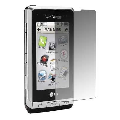 Vx9700 Lcd (Premium wiederverwendbar LCD Displayschutzfolie für LG Dare VX9700)
