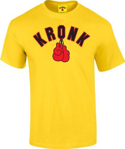 Kronk -  T-shirt - Uomo Giallo
