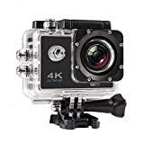 MOBILZA 4K Ultra HD Water Resistant Sports Action Camera Ultra Wide-Angle Lens