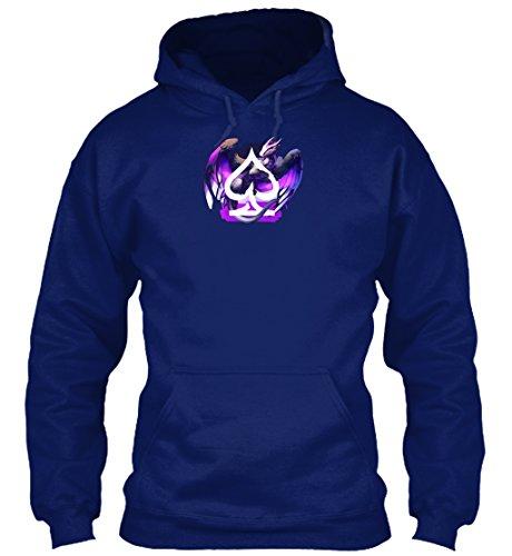 Bequemer Hoodie Damen / Herren / Unisex von Teespring | Originelles Outfit für jeden Anlass und lustige Geschenksidee - Asexueller Drache - Pride - Homosexualität/ Bisexualität